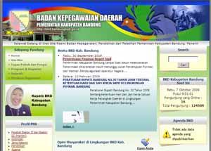 Poto : Web Resmi BKD Kab-Bandung
