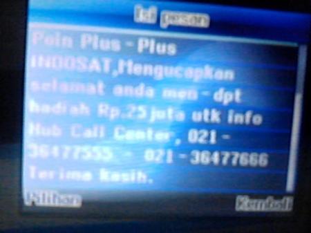 SMS Undian Point Plus-Plus Indosat4