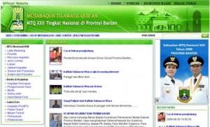 Portal MTQ Nasional XXII Banten