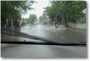 Banjir Jl haji sohari serang banten