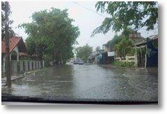 serang Banten tergenang Banjir