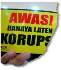 Bahaya Laten Korupsi